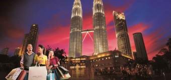 Shopping ở Malaysia với Air Asia