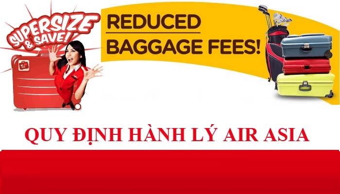 Quy định hành lý xách tay Air Asia