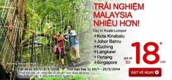 Vé máy bay giá rẻ bay đến Kuala Lumpur