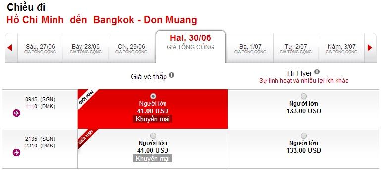 Mua vé máy bay đi Thái Lan