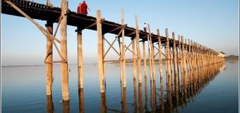 U Bein cây cầu gỗ dài nhất thế giới