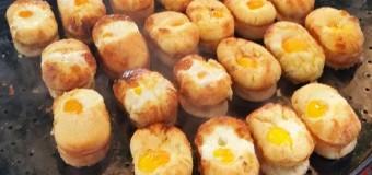Những món bánh đường phố hấp dẫn ở Hàn Quốc