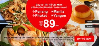 Khám phá ẩm thực thế giới chỉ với 89 USD