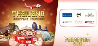 Chỉ từ 8 USD tham gia mùa đại giảm giá Thái Lan