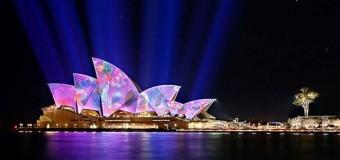 Chiêm ngưỡng đại tiệc ánh sáng tháng 6 ở Sydney