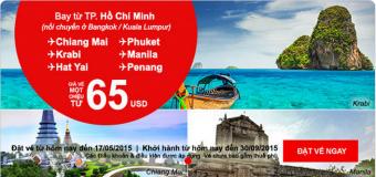 Du lịch Đông Nam Á với giá vé cực rẻ