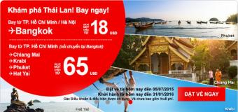 Hành trình khám phá Thái Lan chỉ từ 18 USD