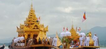 Độc đáo lễ hội Phaung Daw U tháng 10 Myanmar
