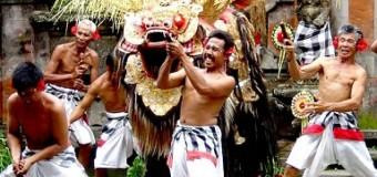 Vũ điệu Barong thần thoại đảo Bali thiên đường