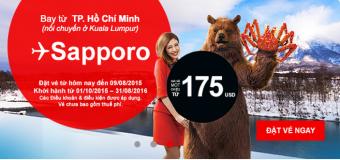 Du lịch Sapporo Nhật Bản cực rẻ chỉ từ 175 USD