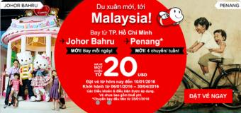 Du lịch Malaysia đầu năm chỉ từ 20 USD