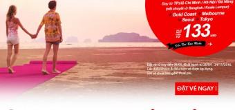 Chỉ từ 133 USD vé Air Asia du lịch văn hóa thế giới