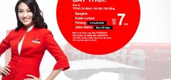 Bay cùng vé Air Asia chỉ từ 7 USD cho kỳ nghỉ lễ 30/04