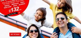 Du lịch ngay và luôn với vé hè Air Asia chỉ từ 132 USD