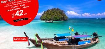 Bay ngay cùng vé rẻ Air Asia chỉ từ 42 USD du lịch châu Á