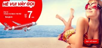 Chỉ từ 7 USD vé Air Asia siêu rẻ đến Bangkok
