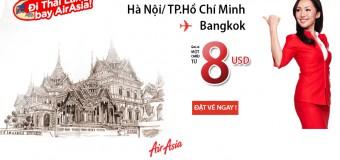 Đến Thái Lan với vé siêu rẻ chỉ từ 8 USD của Air Asia