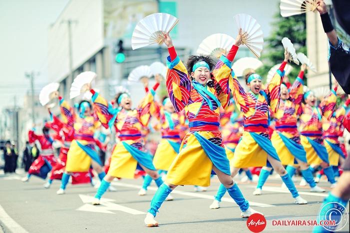 Vũ điệu Yosakoi Nhật Bản