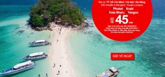 Du lịch châu Á khám phá chân trời mới vé chỉ từ 45 USD
