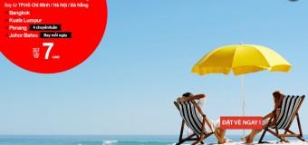 Lên kế hoạch du lịch hè với vé Air Asia chỉ từ 7 USD