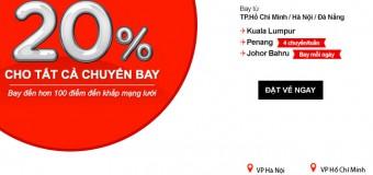 Tuyệt vời du lịch mua sắm Malaysia với vé Air Asia giảm 20%