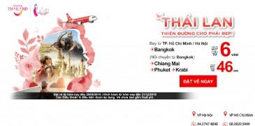 Chỉ từ 6 USD dễ dàng khám phá chùa vàng Thái Lan