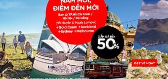 Du lịch Úc cực rẻ với vé Air Asia giảm giá đến 50%