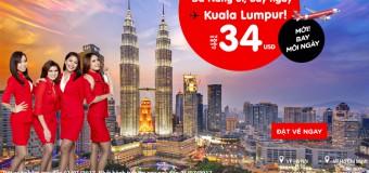 Chỉ từ 34 USD khám phá Kuala Lumpur đầu năm từ Đà Nẵng giá rẻ