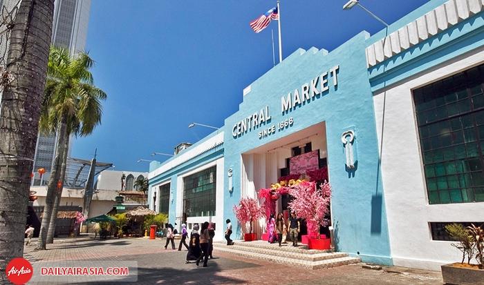 Những điểm đến mua sắm nổi tiếng hàng đầu của Malaysia