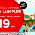 Đến Kuala Lumpur thật dễ dàng với vé 19 USD từ 3 miền Việt Nam