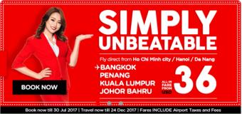 Vi vu Châu Á với vé rẻ chỉ từ 36 USD siêu tiết kiệm cùng Air Asia