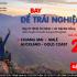 Ưu đãi giảm giá vé đến 20% – Trải nghiệm du lịch thế giới ngay cùng Air Asia