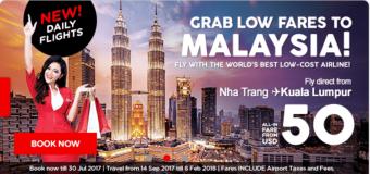 Săn vé rẻ từ 50 USD – Bay thẳng Kuala Lumpur không lo nghĩ cùng Air Asia