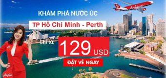 Vé rẻ bất ngờ, chỉ từ 119 USD – Đến Perth cùng Air Asia khám phá nước Úc