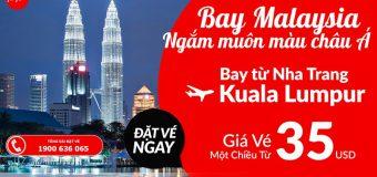 Du hí Malaysia với vé đến Kuala Lumpur chỉ từ 35 USD cùng Air Asia