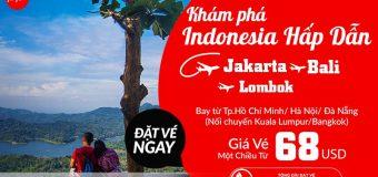 Quẩy tung Indonesia cùng vé Air Asia ưu đãi chỉ từ 68 USD