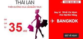 Đến Thái dễ dàng với ưu đãi từ 35 USD siêu tiết kiệm của Air Asia