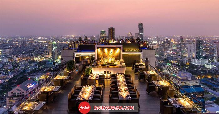 Bữa tối lãng mạn ở Bangkok