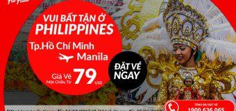 Rộn ràng bay Manila khám phá Philippines chỉ từ 79 USD, vé Air Asia