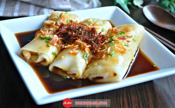 Món Chee Cheong Fun thơm ngon cùng tương đen