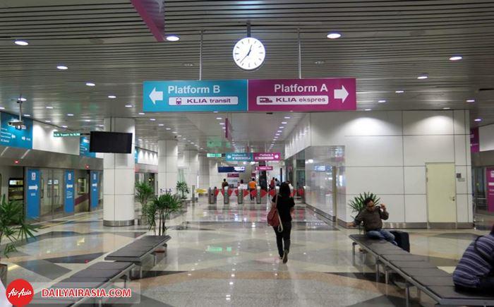 Đặt vé đi tàu ngầm Express tại sân bay KUL