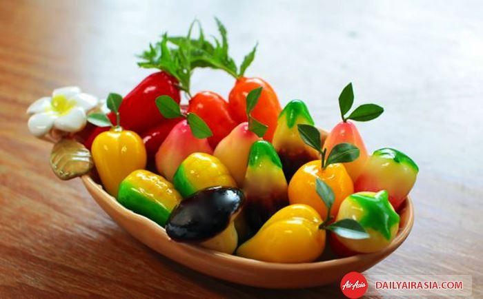 Luk chup - Món ăn vặt nổi tiếng tại Thái Lan