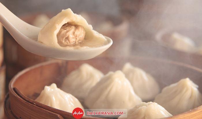 Nếm thử bánh bao nhỏ ở Trung Quốc