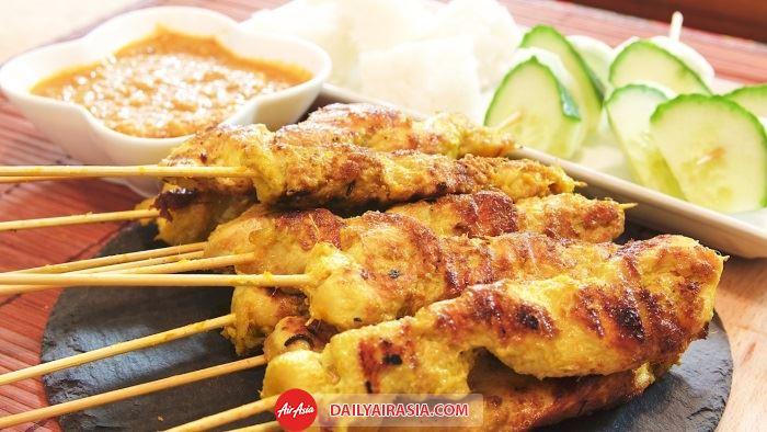 Satay- Món ăn truyền thống người Malaysia