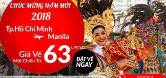 Năm 2018, trải nghiệm hành trình bay đến Manila cực chất – Vé Air Asia chỉ từ 63 USD