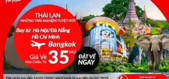 Chỉ từ 35 USD – Đầu năm 2018, đến xứ sở chùa vàng Thái Lan cùng Air Asia