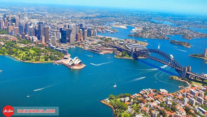 Du lịch Úc cùng ưu đãi đặc biệt của Air Asia