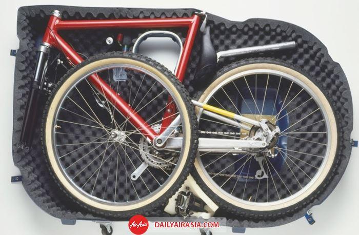 Xe đạp muốn được vận chuyển cần được sắp xếp gọn gàng