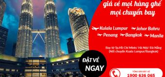 Du xuân khắp nơi với vé máy bay tiết kiệm giảm tới 20% giá vé tại Air Asia