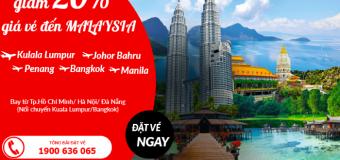 Cùng Air Asia khai xuân tại Malaysia với vé máy bay tiết kiệm tới 20%
